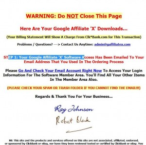 Google Affiliate X Review