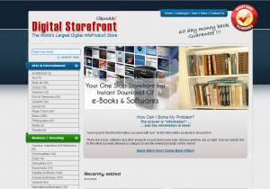 Digital storefront - ClickBank Mall